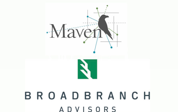 Maven Aligns with BroadBranch Advisors to Offer New Services